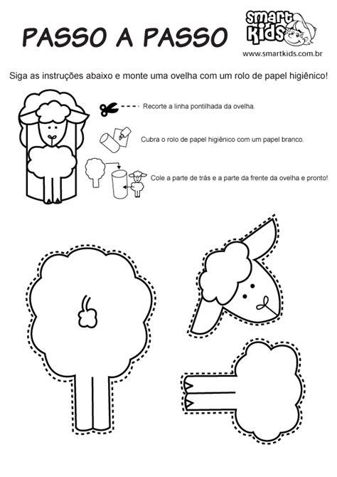 Moldes e desenhos de ovelhas de Páscoa para colorir