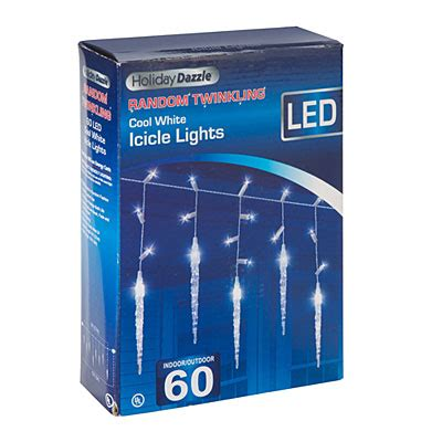 cool white twinkling icicle lights view dazzle twinkling led cool white icicle