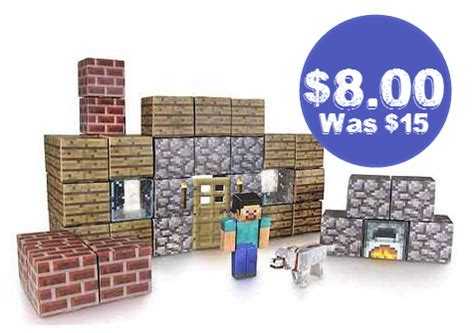 Minecraft Papercraft Target - minecraft papercraft shelter activity set 8 00 was 14