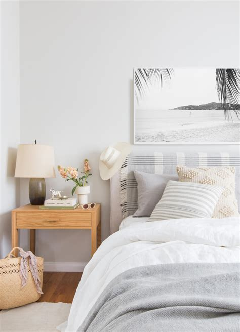 Modern Bedroom Textiles Trendy Emily Henderson The Citizenry Bed Ways Textiles