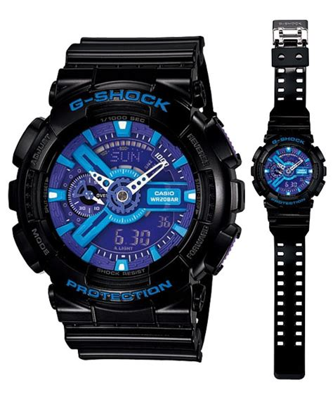 Casio G Shock Ga 110hc 6adr Large Hyper Colors g shock hyper colors series ga 110hc 1a ga 110hc 2a ga 110hc 6a 171 www nzwatches