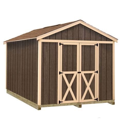best barns danbury 8 ft x 12 ft wood storage shed kit