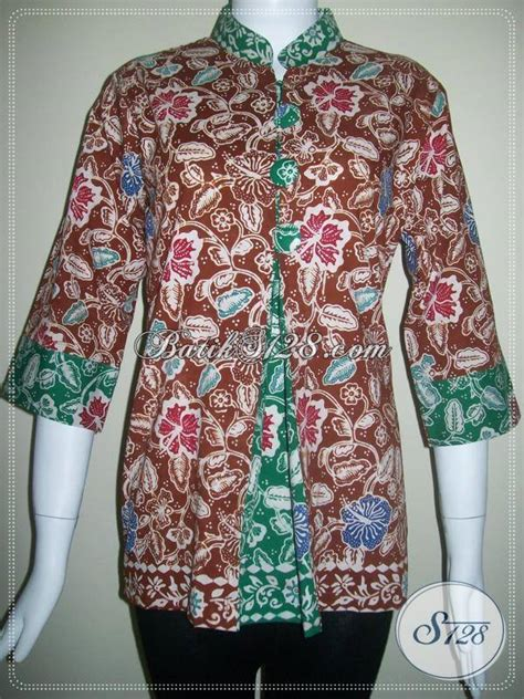 Baju Batik Di Thamrin City model terbaru baju batik kantor untuk wanita yang dijual