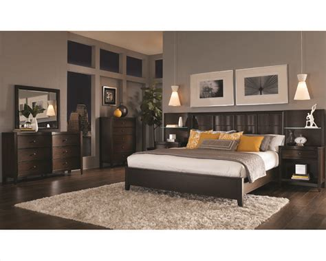 aspenhome bedroom w panel bed wall contour asi11 427 2967set