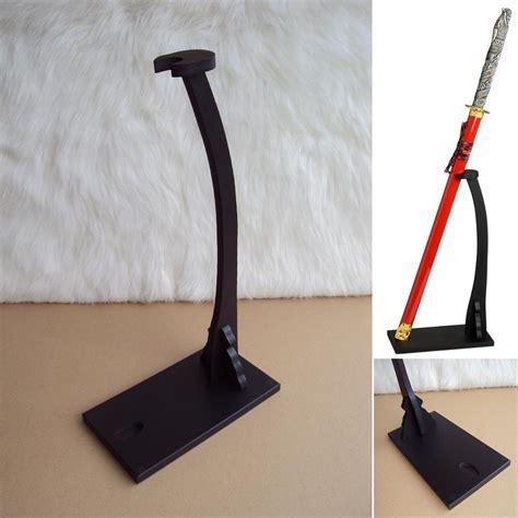 samurai sword floor display stand