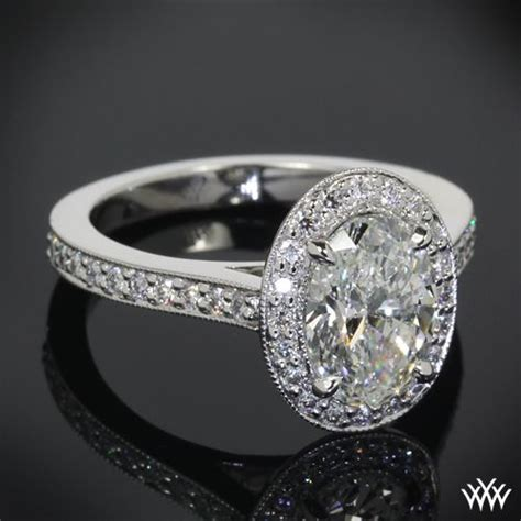half diamond pattern in c 17 best images about diamond halo rings on pinterest