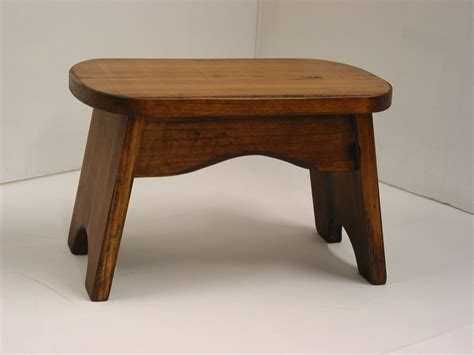 wooden step stool pine step stool wood step stool stained by