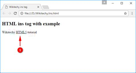 tutorial html tags html tutorial insert tag in html html5 html code