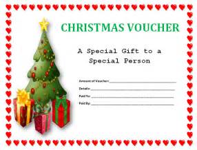 blank christmas voucher template sle helloalive