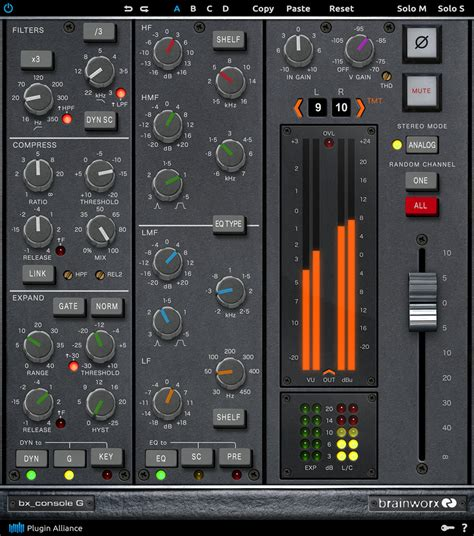console emulation kvr brainworx bx console g by plugin alliance console