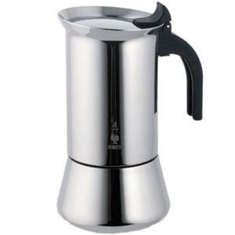 Melky Overall Mocca bialetti venus 6 cup stainless steel espresso machine 6969