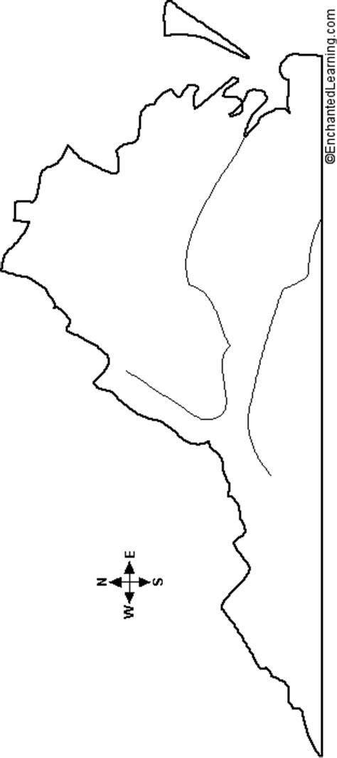 maryland map enchanted learning outline map virginia enchantedlearning