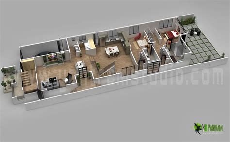 home design plans ground floor 3d modern 3d home floor plan concepts yantram architectural