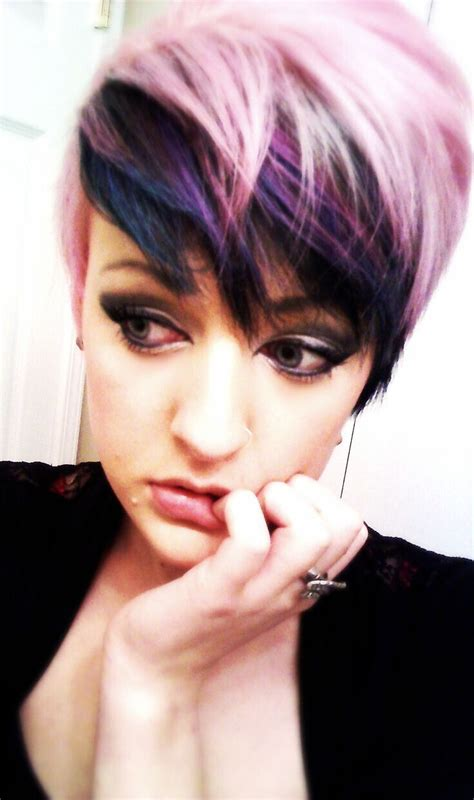 color pattern for short hair 17 stylish hair color designs purple hair ideas to try