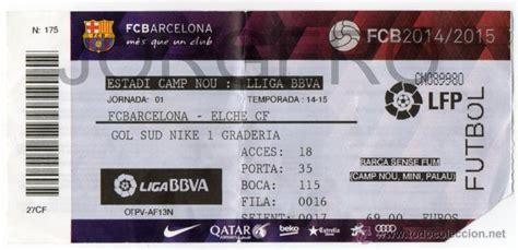 f c barcelona elche f c 1 170 jornada liga 2014 comprar - Entradas Elche Barcelona 2014