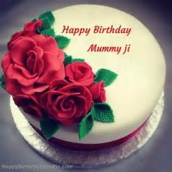 roses birthday cake for mummy ji
