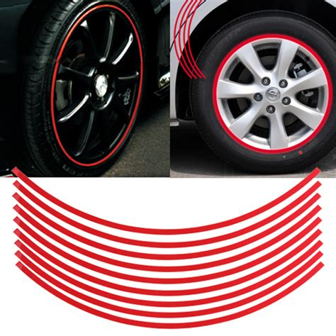 Decal Wheells Samurai Universal reflective strips for vehicles vehicle ideas