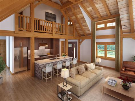 new craftsman timber frame design by timberhaven