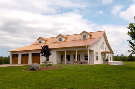pole barn style house floor plans with large barn home pole barn house pictures that show classic construction