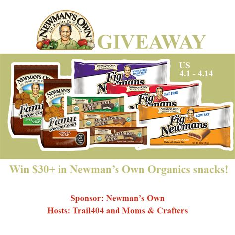 Food Giveaway Today - giveaway chest of treasure to win 20150414 food giveaway newman s own organics