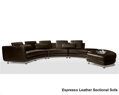 circular leather sectional sofa circular shape leather modern sectional sofa set 44la94