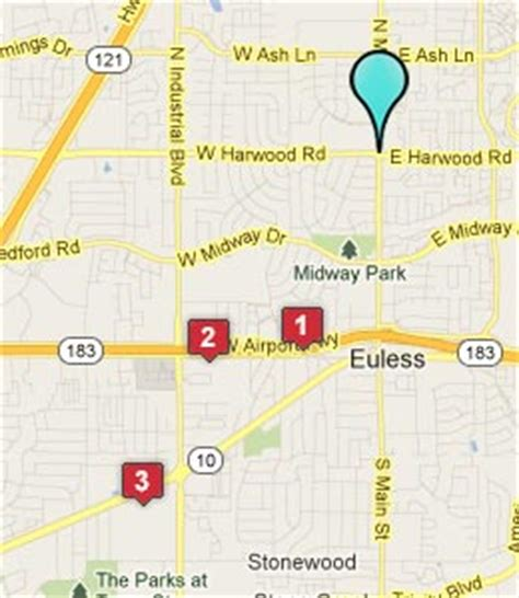 map of euless texas euless texas hotels motels see all discounts