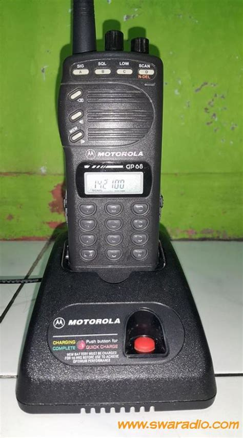 Jual Charger Weierwei 3288 Asli Baru Radio Komunikasi Elektronik T dijual ht motorola gp68 vhf baterai baru output 5 watt swaradio