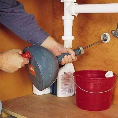 How To Clear A Kitchen Sink Blockage Plumbing Repairs How To Clear Any Clogged Drain Actionplushi