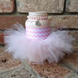 tutu baby shower decorations centerpiece tutu pink elephant prego jars baby shower s baby shower jars