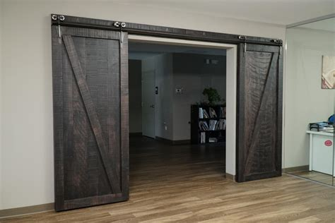 sliding barn doors  dutchcrafters amish furniture