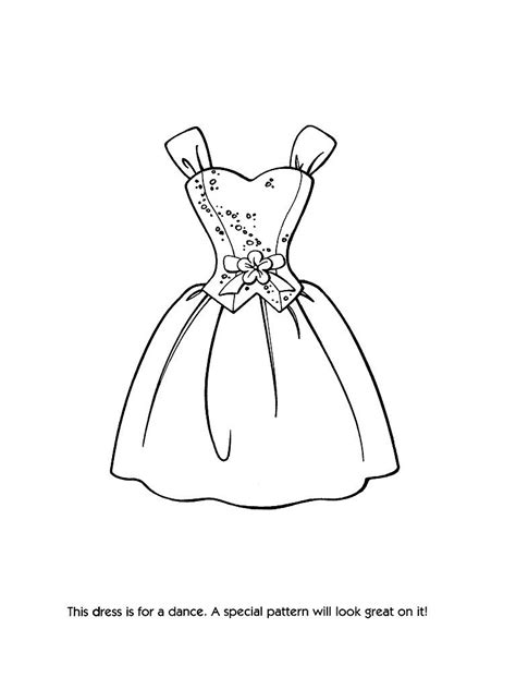 barbie dress coloring page fashion coloring pages