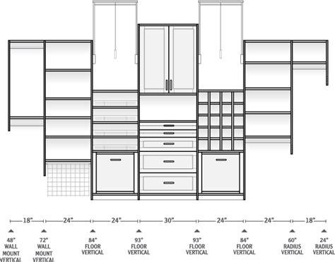 Walkin Closet Dimensions by Gallery Walk In Closet Plans Dimensions
