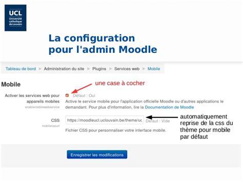 moodle theme configuration moodle mobile configuration et potentiel