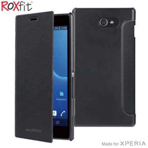 Sony Xperia M2 Casing Cover Kasing roxfit sony xperia m2 book black