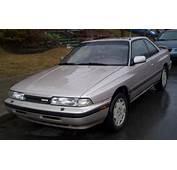 1989 Mazda MX 6  Information And Photos MOMENTcar