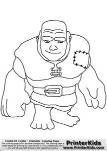 Sarah s super colouring pages clash of clans