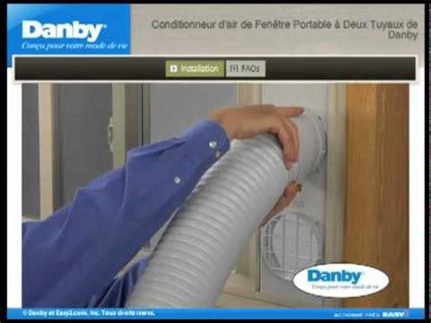 Climatiseur portable - Fenêtre horizontale - YouTube Portable Air Conditioner
