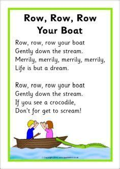 row your boat same tune as 69 best images about up up and away preschool