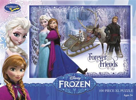 Best Terlaris Puzzle Jigsaw Frozen 100 Pcs Sni disney frozen 100 boxed puzzle forever friends