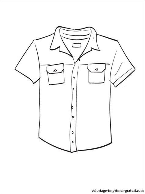 10 Trotro Blouse dessin et coloriage chemise 224 imprimer coloriage 224