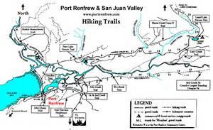 hiking trails map port renfrew hiking trails map port renfrew mappery