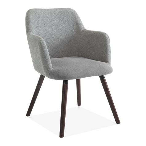 small grey armchair grey wool upholstered hanover small armchair modern