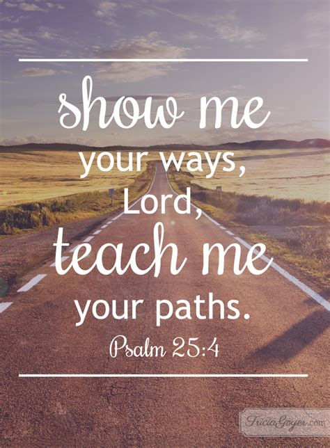 guide to your best your ways psalm 25 4 5 tricia goyer