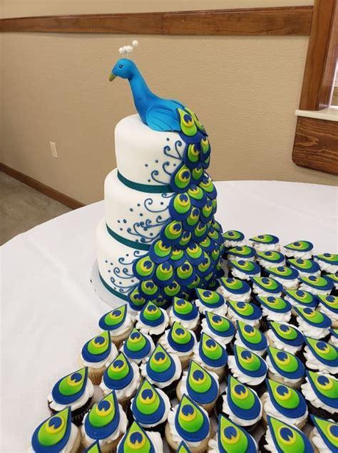 peacock cake neatorama