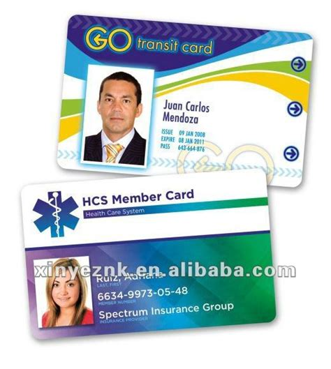 member id card design plastic business id card format buy plastic business id