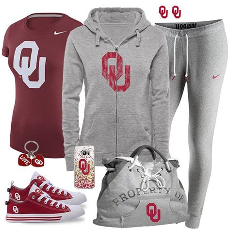 oklahoma sooners fan gear 311 best cute sports fan fashion images on pinterest fan