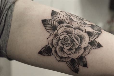 rose tattoo tumblr 14 awesome black tattoos worth seeing