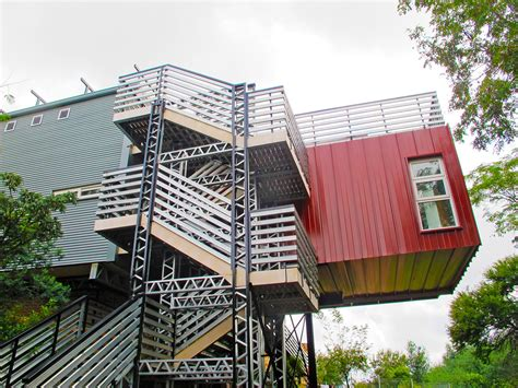 Home Design Blogs Nyc shipping container house inhabitat green design