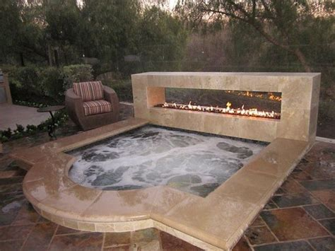 outdoor hot tub sizzling outdoor hot tubs that will make you want to plunge right in the owner builder network