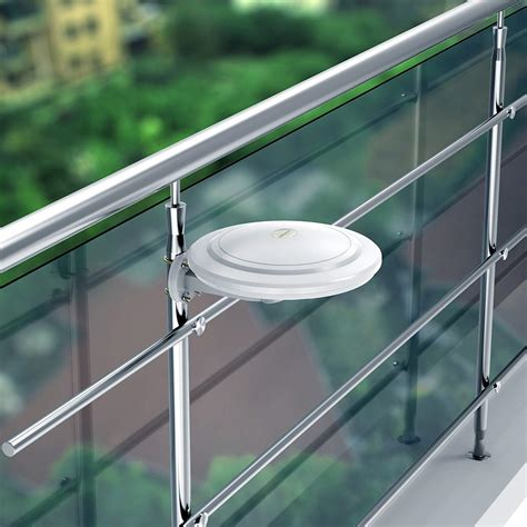reception omni directional amplified indooroutdoor hdtv antenna  mile ebay